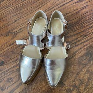 Nine West rose gold shoes